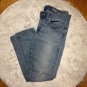 Gap curvy skinny jeans